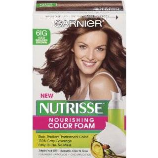 Garnier Nutrisse Nourishing Color Foam, Iced Golden Brown