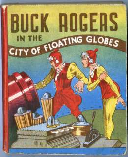 BIG LITTLE BOOK (#NN) BUCK ROGERS IN THE CITY OF FLOATING GLOBES