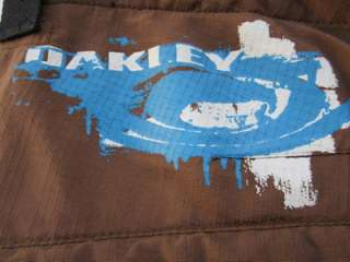 OAKLEY MOUNTAIN BIKE Cycling SHORTS Mens M Med PADDED STRETCH Brown