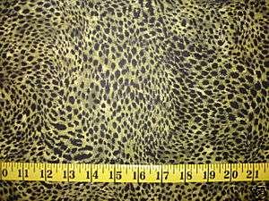 Northcott Green Serengeti Wild Animal Print Fabric BTY