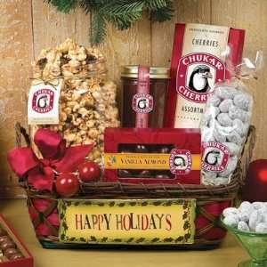 Have A Cherry Holiday Basket  Grocery & Gourmet Food