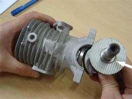 CRRC PRO 40cc GF40i RC Gas Engine Motor Kit & Muffler