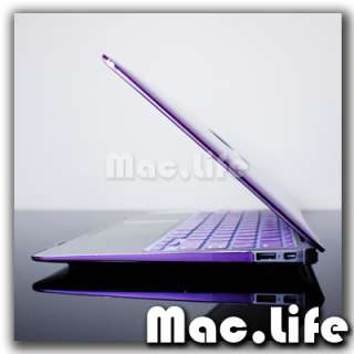 METALLIC PURPLE Hard Case Cover for Macbook Air 11