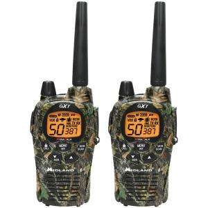 MIDLAND GXT1050VP4 50 Channel Camo GMRS Radio Pair Pack with Batteries