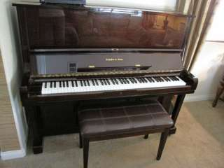 UPRIGHT GRAND PIANO WITH PIANODISC PLAYER
