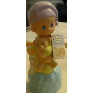 Precious Moments Bubble Bath 3d Sculpture Hand Painted Collectible, 8