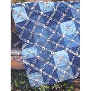 PT1691 Hugs N Kisses XOXOXOs Rag Quilt Pattern by Bonnie