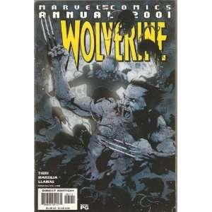 Wolverine; Marvel Comics Annual 2001 Tieri Books