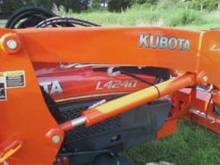 2011 Kubota L4240. Tractor with Cab and Loader. 42hp. 4WD. HST