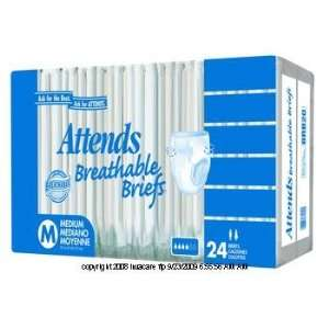 Attends Breathable Brief Health & Personal Care