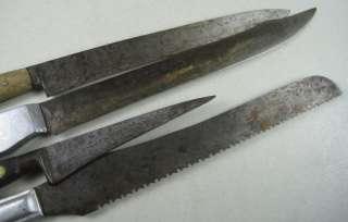 Anique Kichen Knives Henckels win Works Wood & Aluminum Handle