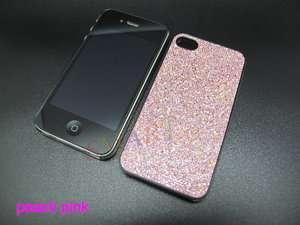 NEW BLING GLITTER SPARKLE HARD BACK CASE COVER FOR APPLE IPHONE 4 4S