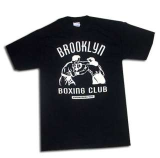 BROOKLYN New York City BOXING Gym Vintage T Shirt XXL Mike Tyson BLACK