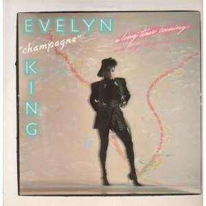A LONG TIME COMING LP (VINYL) ITALIAN RCA 1985 EVELYN