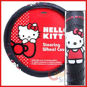 Hello Kitty Auto Steering Wheel Cover Accessory Stand