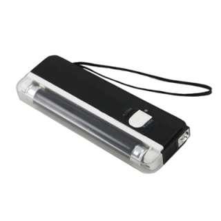 New Portable Black Light Fake Money Detector UV