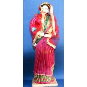 Ethnic Doll   Nepali Handmade Tall Bride Doll From Nepal