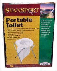 Foldable Toilet   Portable Camping Toilet