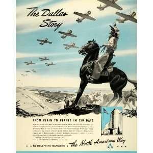 American Aviation World War II Military US Air Force Dallas Cowboy