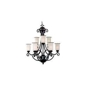 Light Chandelier Energy Star 32.25 W Sea Gull Lighting 31147BLE 814