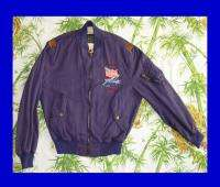 AVIREX Vintage Bomber JACKET 80s Army Air Forces FLYER 1987 War