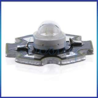 10pcs 3W High Power Bright Star LED Light Lamp Bulb Red for Aquarium