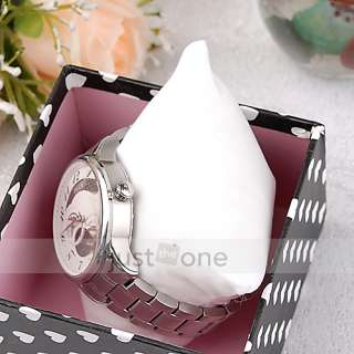 Wrist Watch Box Storage Organizer Display Case Gift Package Bowknot