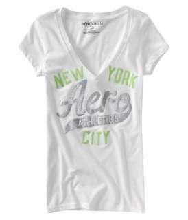 Aeropostale AERO V neck T shirt Tee XS,S,M,L,XL,2XL NEW