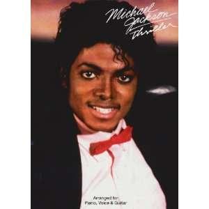 Michael Jackson Thriller Single Sheet 9781849382595