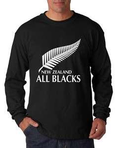 New New Zealand All Blacks Logo Long Sleeves T shirt