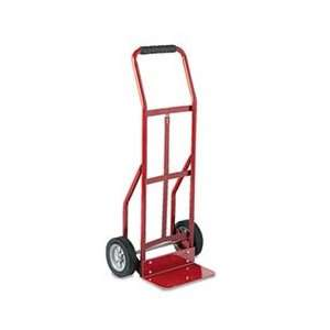 Two Wheel Steel Hand Truck, 300lb Capacity, 18 x 44, Red