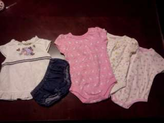 girl Newborn, 0 3, 3 6 months Spring/ Summer clothes and shoes lot