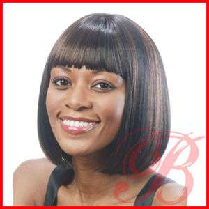 Motown Tress Medium Straight Bob Style Full Wig TILA