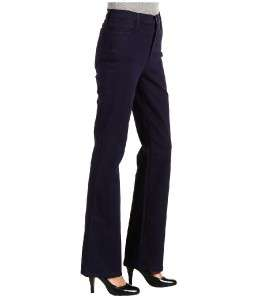 NWT NYDJ NOT YOUR DAUGHTERS JEANS * MARILYN SUEDE DENIM in EGGPLANT 8