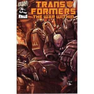 Transformers The War Within, Vol 1 #2 (Comic Book) Simon