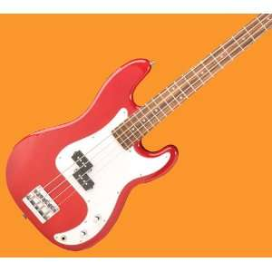 NEW JAY TURSER TRANS RED ELECTRIC BASS GUITAR JTB400CTR