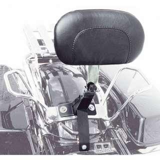 Mustang 79610 Driver Backrest Kit for Harley Davidson 2008 2011 FLHT