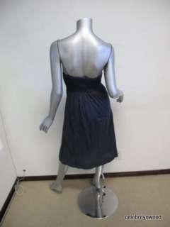 James Perse Navy Blue Spaghetti Strap Dress 1