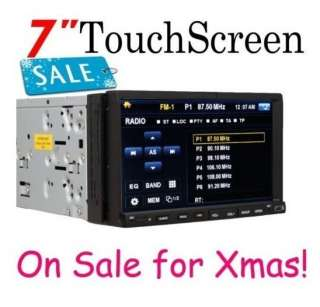 Double Din In Dash Car Stereo Radio DVD Player Head Deck  USB SD
