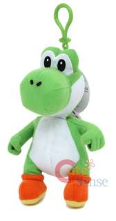 Nintendo Super Mario Green Yoshi Plush Doll Coin Bag