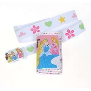 Disney Princess Belle Cinderella and Sleeping Beauty Slider Belt and