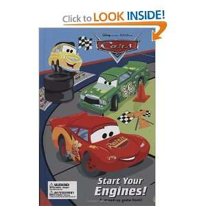 Disney/Pixar Cars, Start Your Engines (9780786849215) tk, Disney
