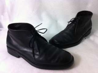 Salvatore Ferragamo Mens Ankle High Boots Size 8.5 EE