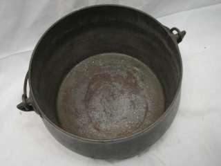 VINTAGE CAST IRON BEAN POT KETTLE MARIETTA PA 6 QT W/TIN LID