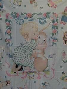 Toy Treasures Baby Panel Fabric