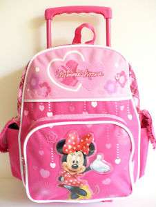 Minnie Mouse Small Rolling Backpack/Bag/38253