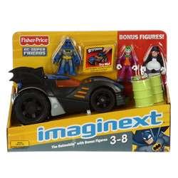Fisher Price Imaginext Batman and Batmobile Toy Set