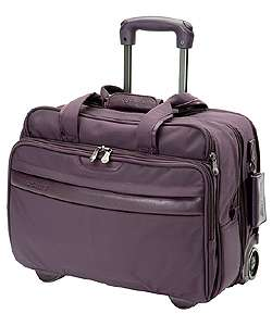 Andiamo Bravo Wheeled Tri fold Garment Bag (Plum)