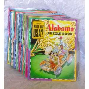 com Highlights Which Way USA? Set of 31 Puzzle Books Inc Highlights