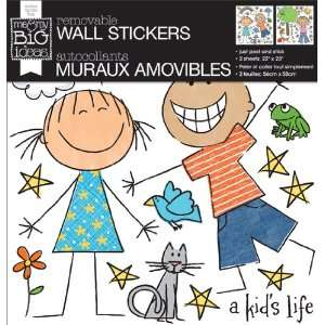 and My Big Ideas Removable Wall Sticker, A KidS Life